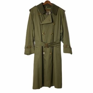 Burberry's Vintage Trench Coat With Wool Lining